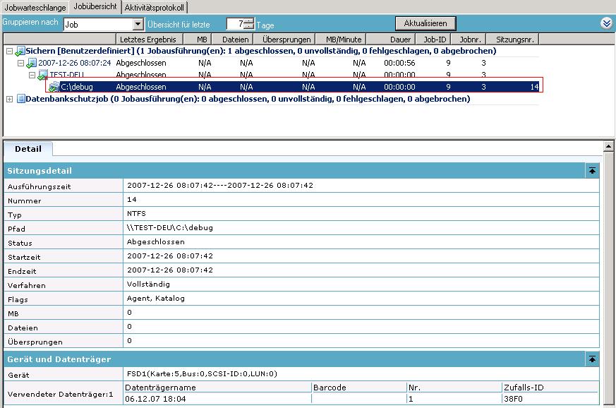 CA ARCserve Backup für Windows - Administrationshandbuch