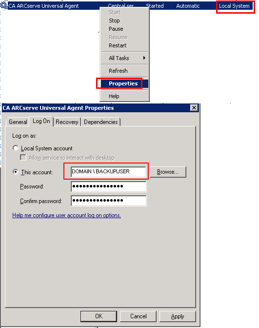 Brightstor arcserve universal clientpush agent for netware