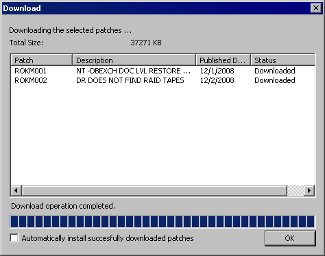 ca arcserve r16 patch manager