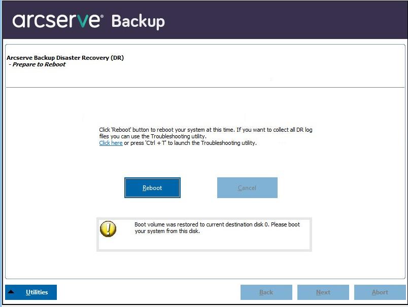 ARCserve Backup-Hilfe für Lokalisierung
