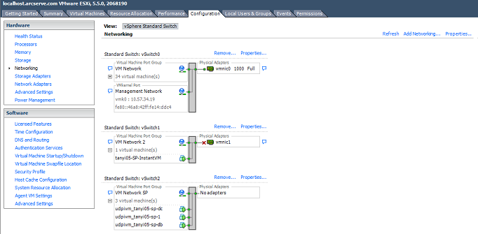 How to Create an Isolated Network for SharePoint Recovery for VMware VM