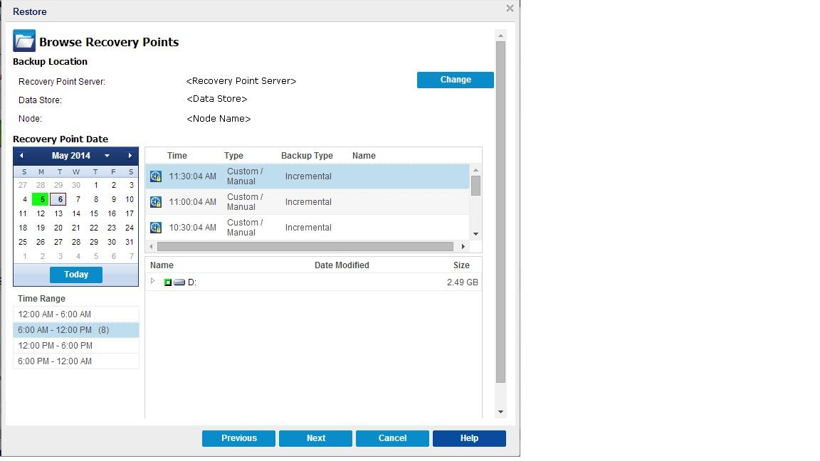 Arcserve UDP Agent for Windows User Guide 6 0
